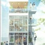 千代田区内神田2丁目『新築飲食ビル1階~3階』募集中